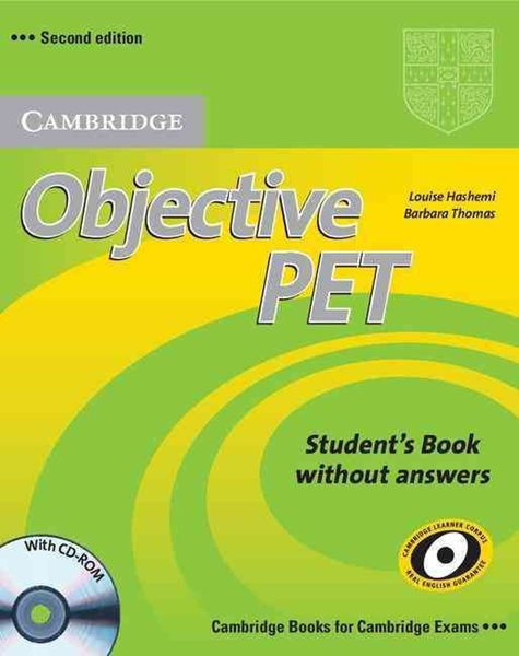Objective PET Students Book - Hasemi, Thomas