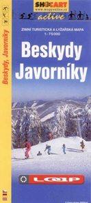 Beskydy, Javorníky - zimní turistická a lyžařská mapa - 1:75 000