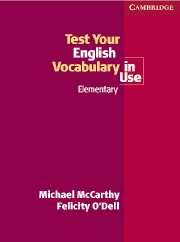 Test Your Engl.Vocab.in Use elementary with answer
