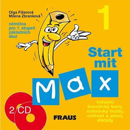 Start mit Max 1 - audio CD k učebnici /2ks/ - Fišarová O.,Zbranková M.