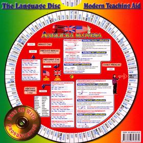 Anglická slovesa 1 + 2 + audio CD - Otočná mapka