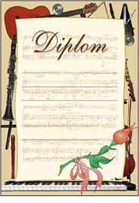 Diplom A4 - Hudební