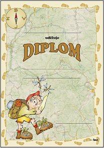 Diplom A4 - Turista