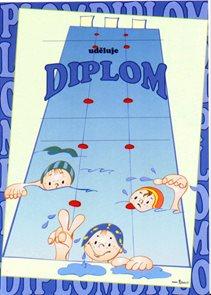 Diplom A4 - Plavci