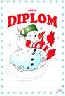 Diplom A5 - Sněhulák
