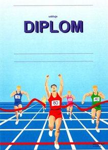 Diplom A5 - Běžci