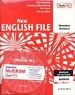 New English File elementary Workbook with key + CD