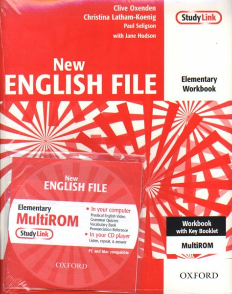 New English File elementary Workbook with key + CD - Oxenden,Latham-Koenig a kol.