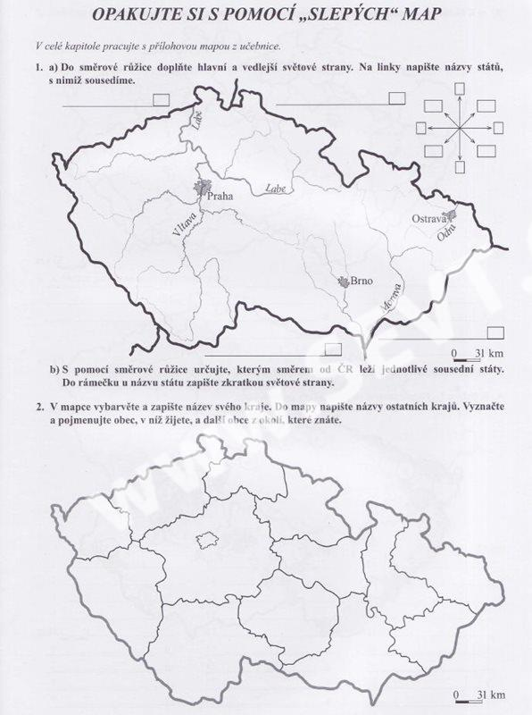 Vlastiveda 5 Ceska Republika Jako Soucast Evropy Pracovni Sesit