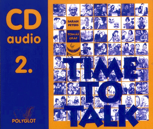 Time to Talk 2. SŠ a JŠ-Audio CD /4ks/