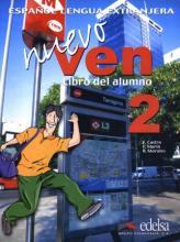 Nuevo Ven 2-učebnice + audio CD - Castro,Marín,Morales - A4, brožovaná