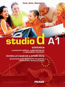 Studio d A1 němčina pro jazykové a střední školy-učebnice + CD - Funk,Kuhn,Demme