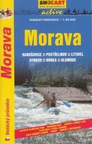Morava - vodácký průvodce /Hanušovice--Olomouc/ - 1:50t