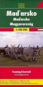 Maďarsko - mapa Freytag&Berndt - 1:400t