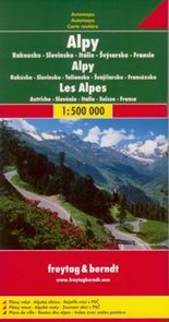 Alpy - mapa Freytag - 1:500t