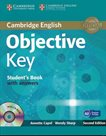 Objective Key 2E with Answers + CD-ROM - Students Book