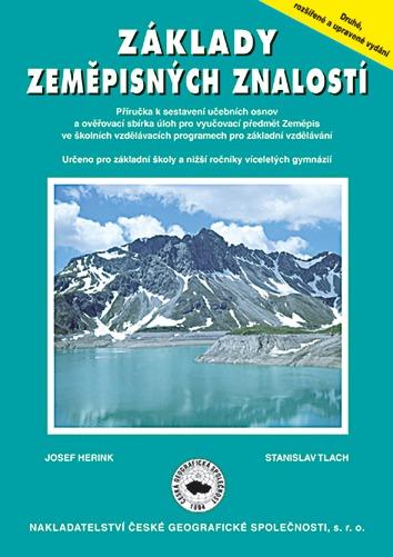 Základy zeměpisných znalostí - příručka učitele - Herink J.,Tlach S. - A4, brožovaná