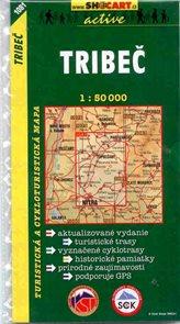 Tribeč - mapa SHc1081 1:50 000