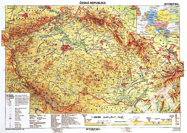 Ceska Republika Obecne Zemepisna A2 Lamino Sevt Cz