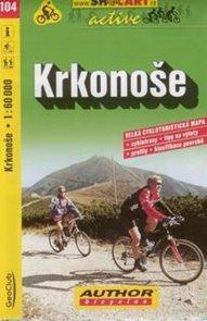 Krkonoše - cyklo SHc104 - 1:60t