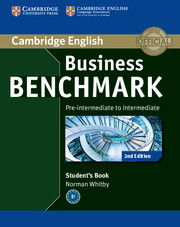 Business Benchmark Upper-intermediate Students Book - Brook-Hart Guy
