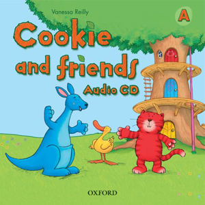 Cookie and Friends A - audio CD