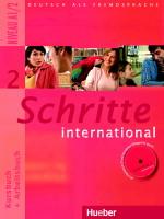 Schritte international 2 Kursbuch + Arbeitsbuch + audio CD