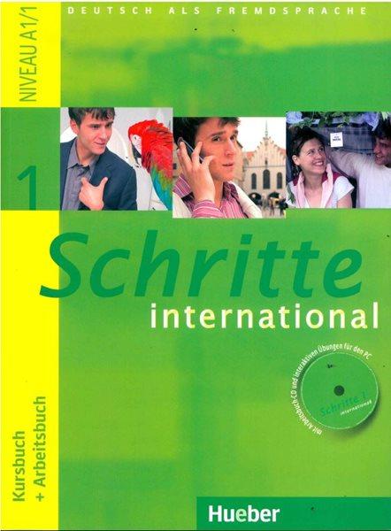 Schritte international 1 Kursbook + Arbeitsbuch + CD + slovníček - A4, brožovaná