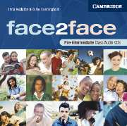 Face2face Pre-intermediate class audio CDs