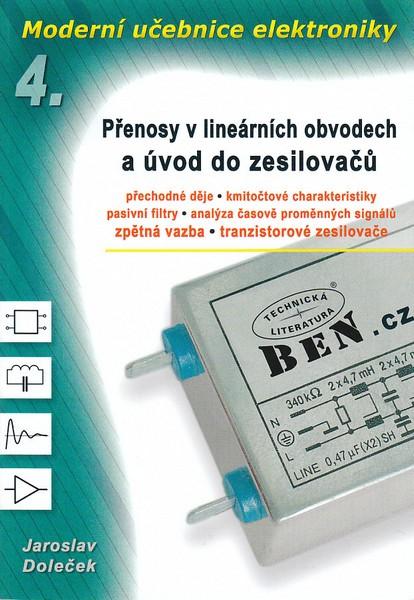 Moderní učebnice elektroniky 4 - Doleček J. - A5, brožovaná, Sleva 20%