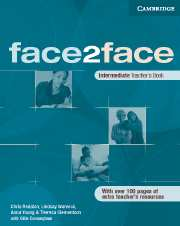 Face2face intermediate Teachers Book