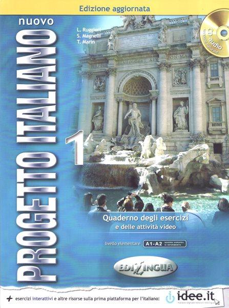 Nuovo Progetto Italiano 1 - pracovní sešit - Magnelli S., Marin T., Ruggieri L. - A4, brožovaná