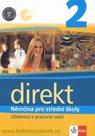 Direkt 2 - Němčina pro SŠ - učebnice a pracovní sešit + audio CD /1 ks/