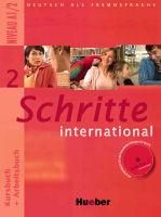 Schritte international 2 Paket (Kursbuch+Arbeitsbuch+CD+Glossar) - A4, brožovaná