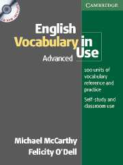 English Vocabulary in Use advanced with answer + CD-ROM