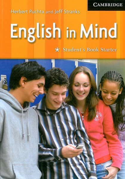 English in Mind Starter Students Book - Puchta H.,Stranks J. - A4, brožovaná