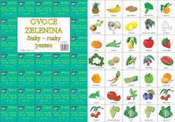 Pexeso česky - rusky Ovoce,zelenina