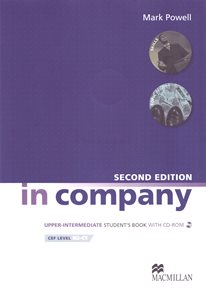 In Company Upper-intermediate Students Book with self-study CD-ROM