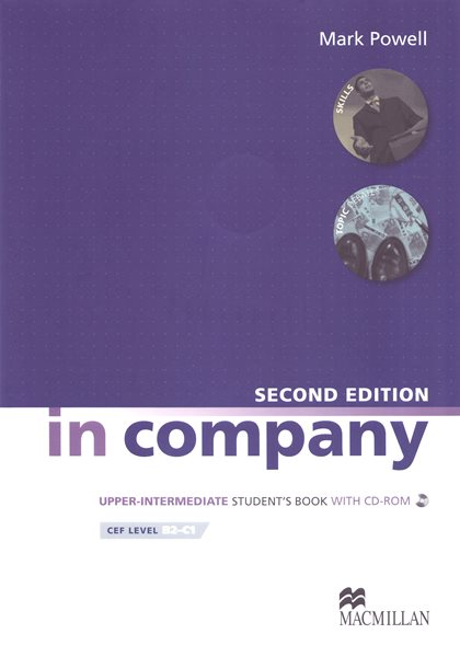 In Company Upper-intermediate Students Book with self-study CD-ROM - Powell Mark - A4, brožovaná
