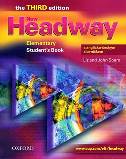 New Headway elementary Third Edition Students Book s anglicko-českým slovníčkem - Soars Liz and John - A4, brožovaná