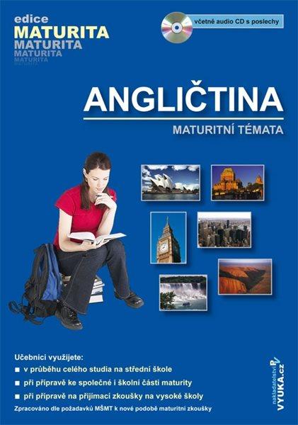 Angličtina - maturitní témata + audio CD s poslechy - El-Hmoudová Dagmar - B5