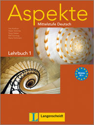 Aspekte 1 Lehrbuch /Niveau B1+/ + DVD