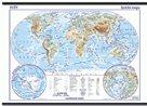 Svět - školní - obecně zeměpisný - nástěnná mapa - 1:28 000 000