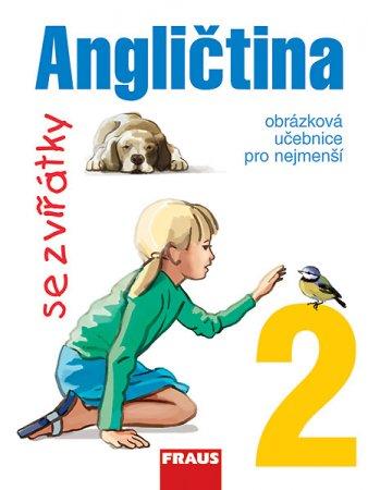 Angličtina se zvířátky 2 - učebnice - Davidová Jana - A4, sešitová
