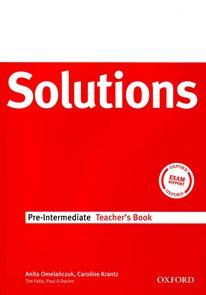 Maturita Solutions Pre-intermediate Teachers Book (metodika)