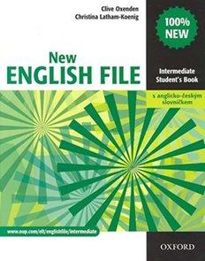 New English File intermediate Students Book + anglicko-český slovníček