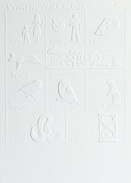 Interaktivní pomůcka pro ČJ - Vyjmenovaná slova po S - A4, plastový list