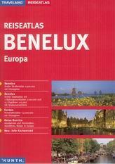 Benelux 1: 300 000 Evropa 1: 4 000 000 - cestovní atlas