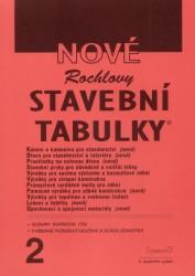 Nové Rochlovy stavební tabulky 2. díl /2.vydání/