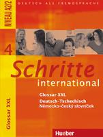 Schritte international 4 Glossar XXL německo-český slovníček